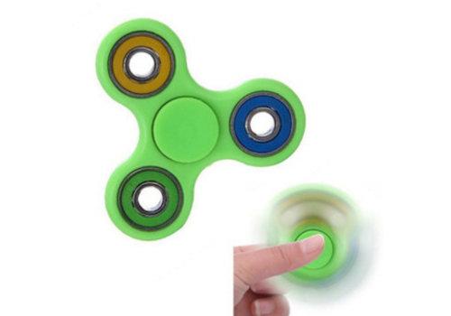 Finger Fidget Spinner Glow of Dark Groen
