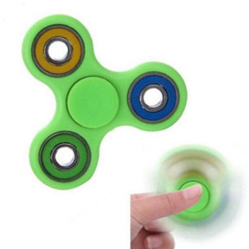 Ecubee Finger Fidget Spinner Glow of Dark Groen