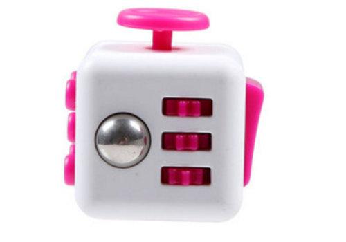 Fidget Spinner Wit/Roze
