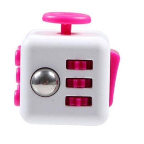Huismerk Fidget Spinner Wit/Roze