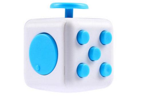 Fidget Spinner Wit/Blauw