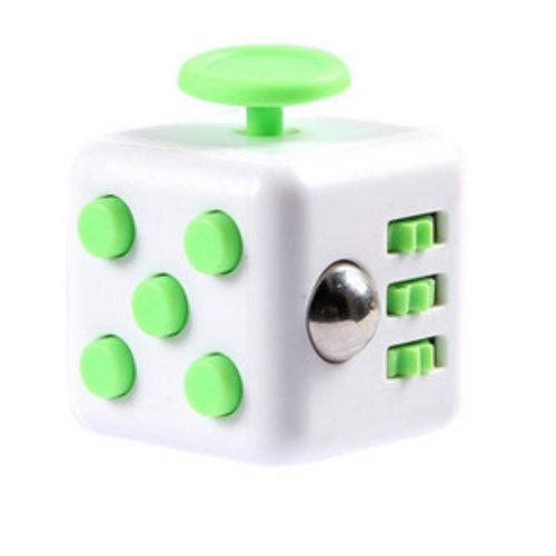 Huismerk Fidget Spinner Wit/Groen