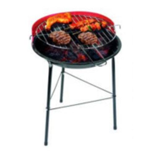 Huismerk BBQ-Grill gekleurd, 43 cm hoog