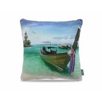 Tropical Boat Blue