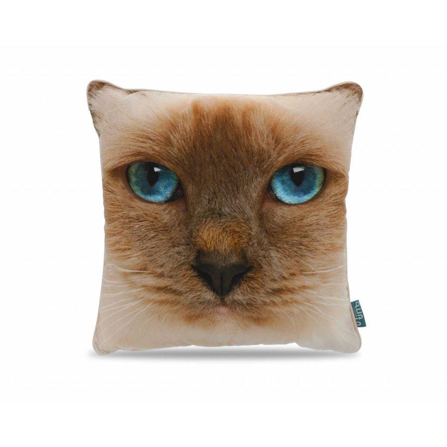 Cat Face Light Brown
