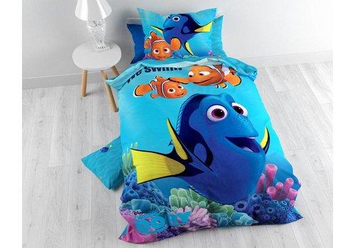 Dory Swimming Blue