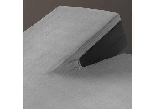 Hoeslaken Splittopper Jersey Grey