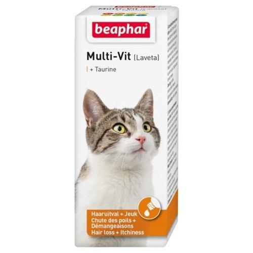 Huismerk Beaphar multi-vit laveta kat met taurine