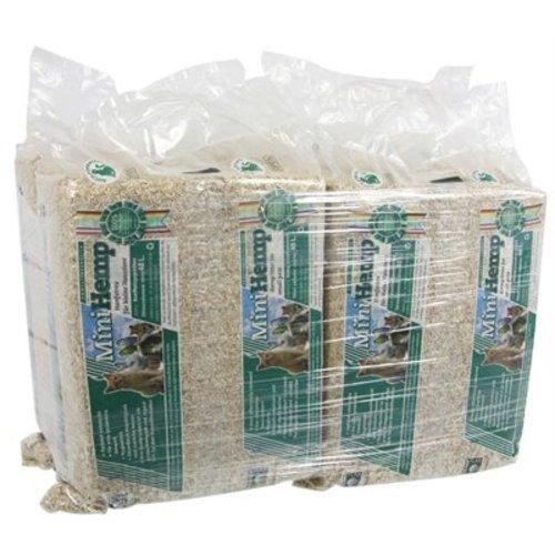 Huismerk 4x hennepvezelstrooisel bodembedekking knaagdier
