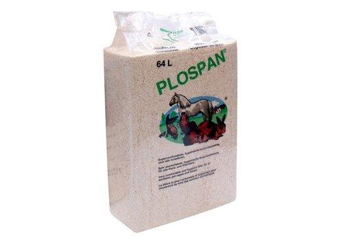 4x plospan houtvezel bodembedekking paarden / knaagdieren