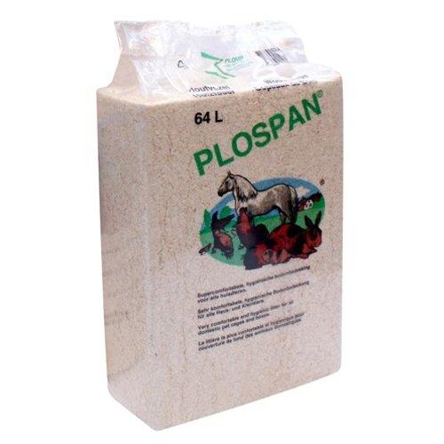 Plospan 4x plospan houtvezel bodembedekking paarden / knaagdieren