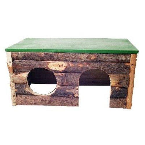 Huismerk Blokhut hout