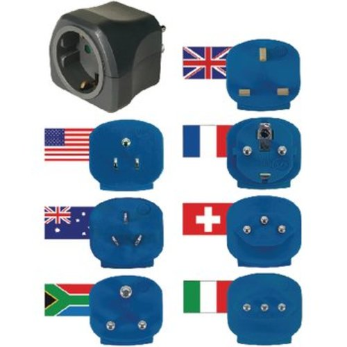 Brennenstuhl Reisadapter Wereld-naar-Europa Geaard