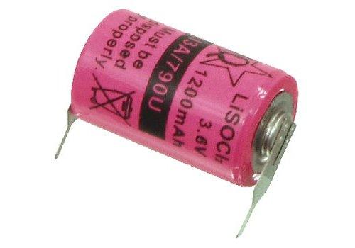 Lithium Thionylchloride Batterij ER14250 3.6 V 1200 mAh 1-Blister