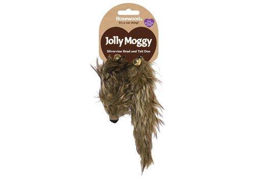 Jolly moggy hoofd/staart duo silvervine / matatabi