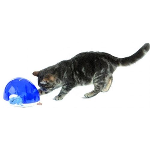 Huismerk Trixie cat activity snack box slow feed