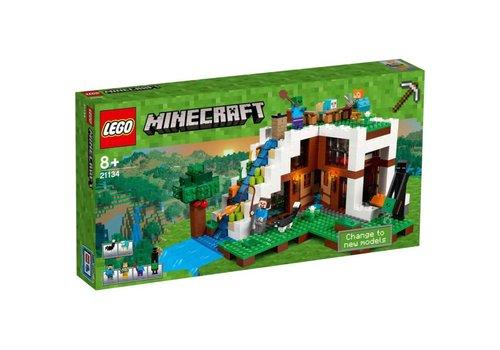 Minecraft - De watervalbasis