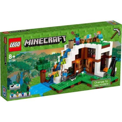 Lego Minecraft - De watervalbasis