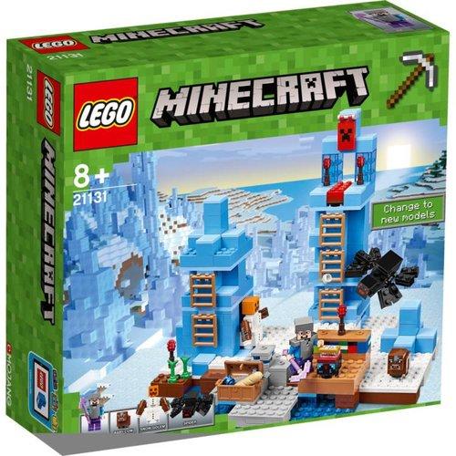 Lego Minecraft - De ijsnaalden