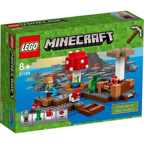 Lego Minecraft - Het Paddenstoeleiland