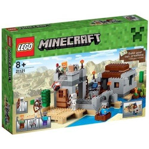 Lego Minecraft - Woestijnuitkijkpost