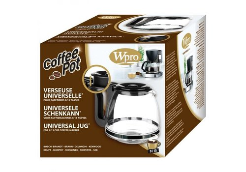 Universele verstelbare koffiekan