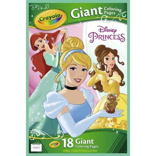 Crayola Reuze Kleurplaten Disney Princess
