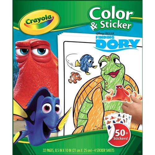 Crayola Kleur en sticker boek Finding Dory