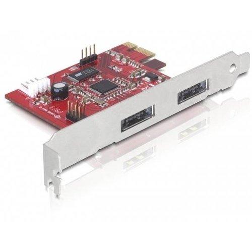 PCI Express Card > 2x Power Over eSATA 5V/12V