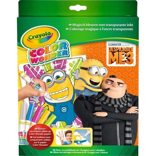 Crayola Color Wonder - Box set Despicable Me 3