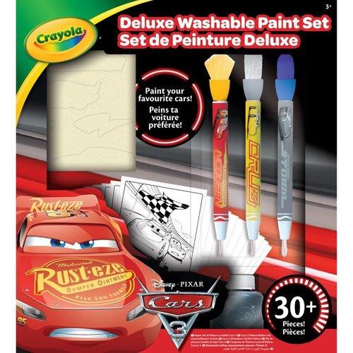 Crayola Disney Cars 3 Afwasbare Verfset Deluxe