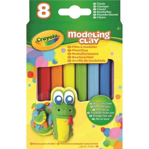 Crayola Boetseerklei - 8 sticks Klassieke Kleuren