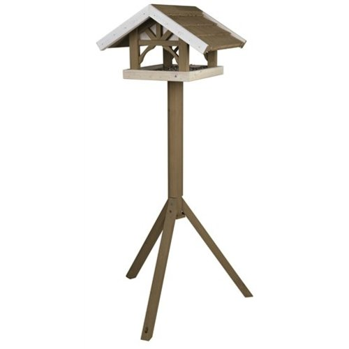 Trixie nature vogelhuis opstandaard grijs / wit
