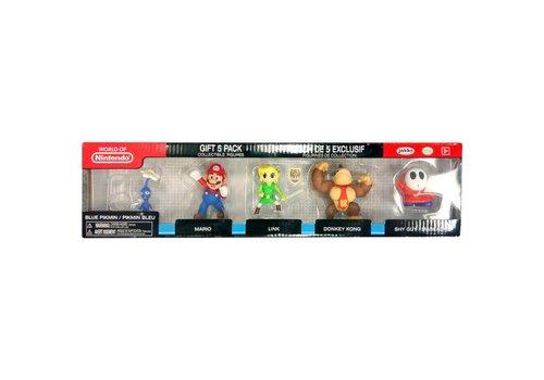 Nintendo: 2.5 inch 5 Figure Gift Set - Wave 3