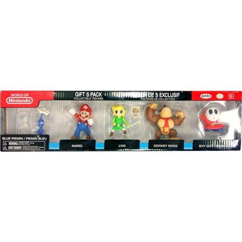 JAKKS Pacific Nintendo: 2.5 inch 5 Figure Gift Set - Wave 3