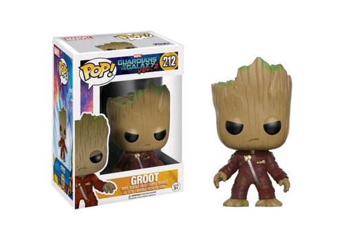 Pop! Marvel: GotG 2 - Young groot in suit (angry)