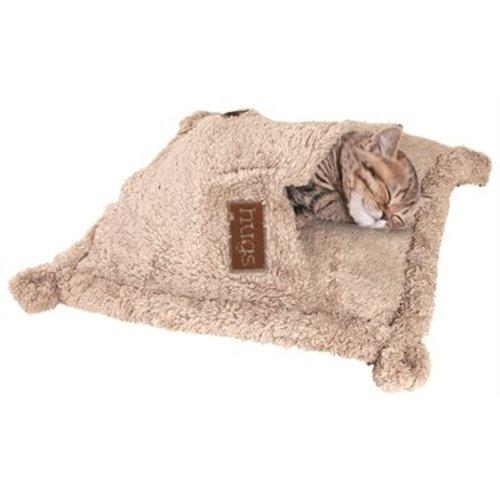Happy pet kattenslaapzak hugs snuggle