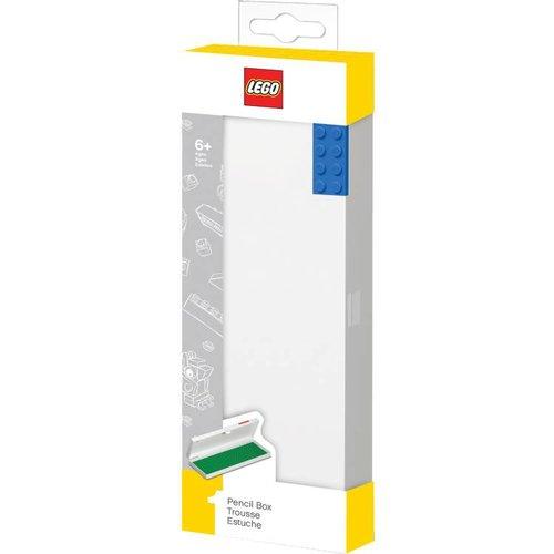 Lego Pennendoosje in de vorm van een LEGO steen (blauw)