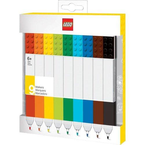 Lego Classic - Set van 9 markers