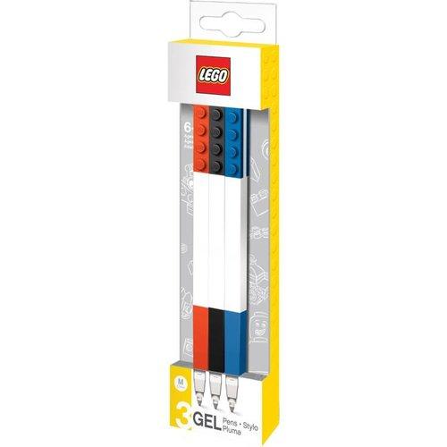 Lego Classic - Set van 3 gelpennen