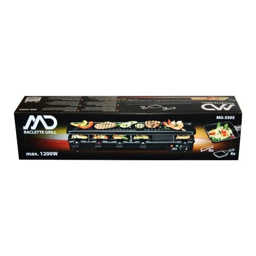 MD Gourmet: Raclette/Grillplaat MG-5505