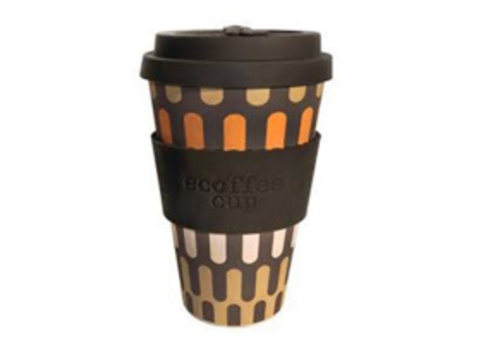 Ecoffee Cup Bamboo - 400 ml Girona - Brown