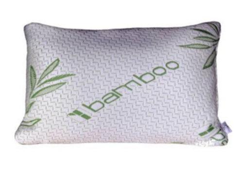 Luxe bamboe traagschuim kussen