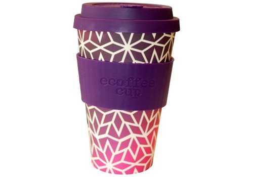 Ecoffee Cup Bamboo star- 400 ml