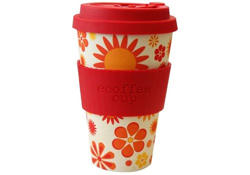 Ecoffee Cup Bamboo happier- 400 ml