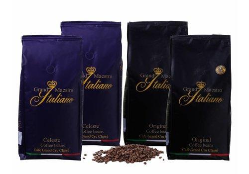 Proefpakket Prestige Koffie Bonen (4x1000 gram)