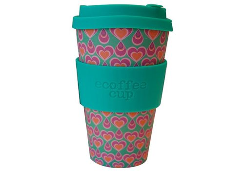 Ecoffee Cup Bamboo - 400 ml Itchykoo - Green