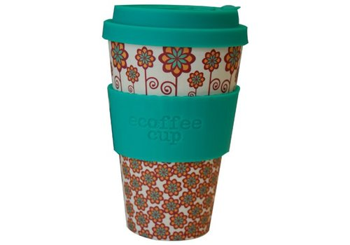 Ecoffee Cup Bamboo - 400 ml Stockholm - Green