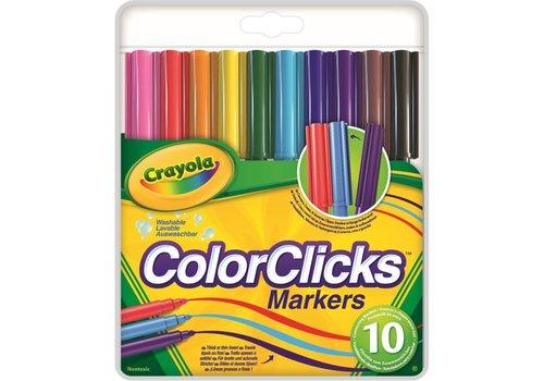 10 ColorClicks viltstiften