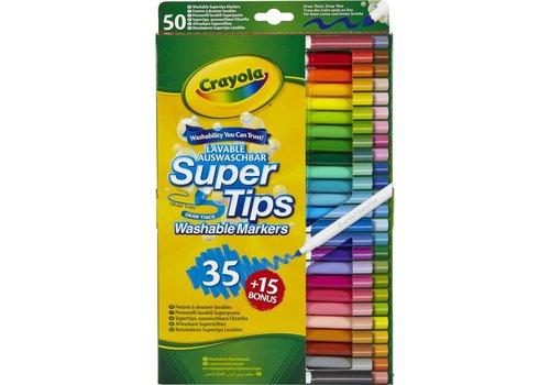 50 Viltstiften met superpunt